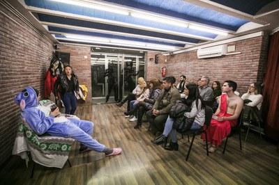Diferentes salas de la Torre Bassas han acogido los montajes de los grupos de teatro juveniles (foto: Ayuntamiento - Lali Puig).