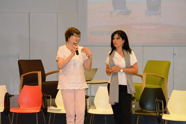 Roser Tutusaus y Teresa Garcia