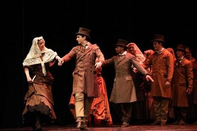 También se han interpretado otras danzas tradicionales y de nueva creación (foto: Ayuntamiento ─ Lali Puig)