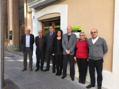El convenio se ha formalizado este jueves en Sant Cugat (Foto: Ajuntament de Sant Cugat).