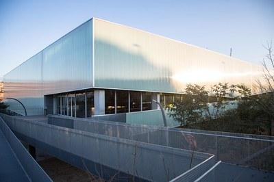 El pabellón de La Llana acogería un centro sanitario de emergencia (foto: Ayuntamiento de Rubí - Localpres).