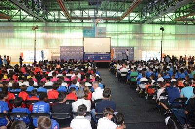 Alrededor de un millar de personas se han reunido en La Llana (foto: Localpres)