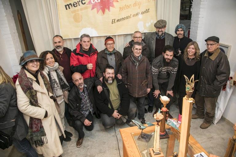 Artistas participantes (foto: Ayuntamiento de Rubí - Lali Puig)