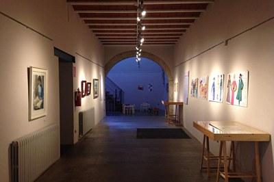 Exposició dedicada a Daniel Bas en el MMUC (foto: Ajuntament de Rubí).