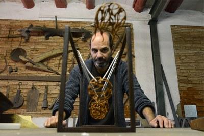 Rafa Gascón es uno de los escultores que participarán en la exposición (foto: Localpres).
