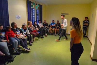 """Una de las obras representadas el domingo fue """"Infectados"""", de la compañía Ojo Peligro (foto: Ayuntamiento - Localpres)."""