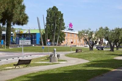 La rotonda de la Llana (foto: Ayuntamiento de Rubí).