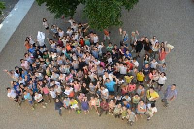 El cierre del programa ha tenido lugar en los jardines del  Ateneu (foto: Localpres) .