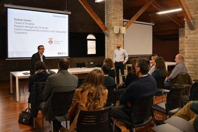 El concejal Rafael Güeto ha presentado la jornada.