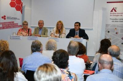 El acto ha tenido lugar en la biblioteca Mestre Martí Tauler (Foto: Ajuntamnet/Localpres).