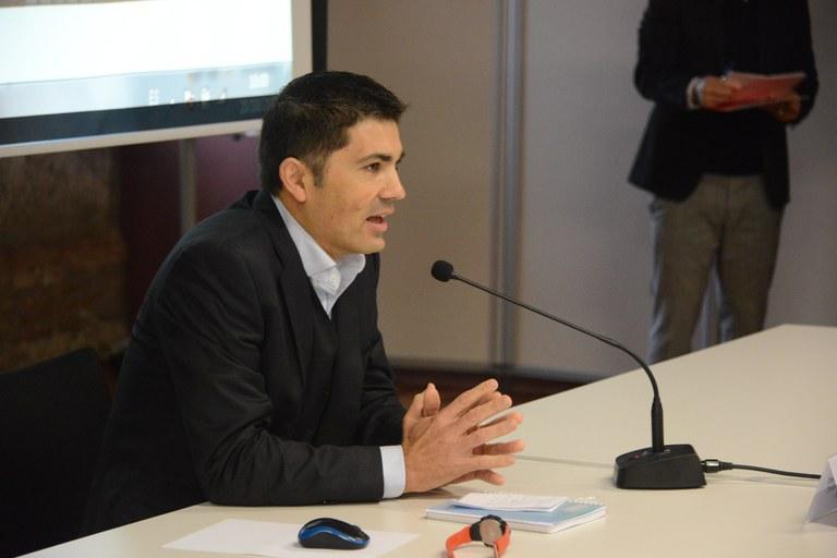 Fernando Pérez Neira de SIEMENS (foto: Localpres)