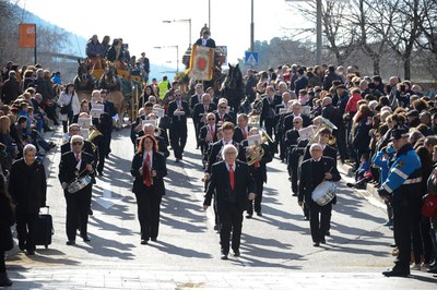 La música, también presente en el desfile (foto: Localpres)