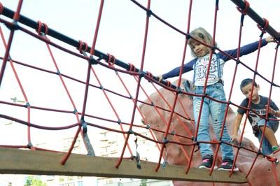 Las actividades deportivas han atraído a muchos niños y niñas (foto: Localpres)