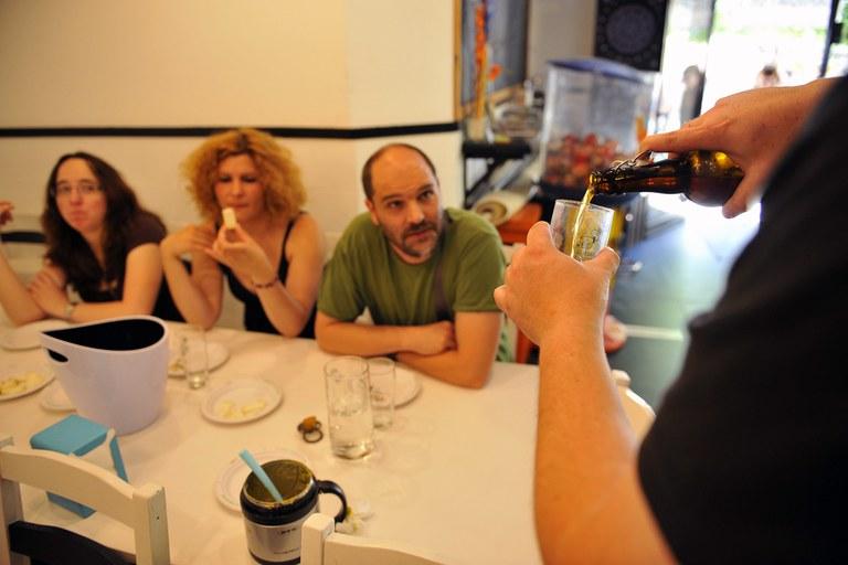 Los maridajes se han hecho en el Bar K'dem (foto: Localpres)