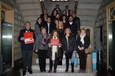 Recepción en el Ayuntamiento (foto: Localpres)