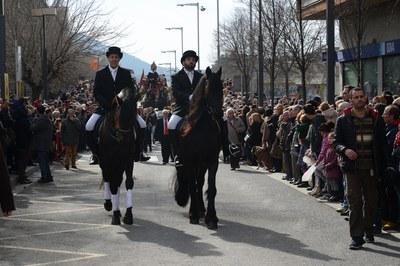 El desfile de los Tres Tombs (foto: Localpres)