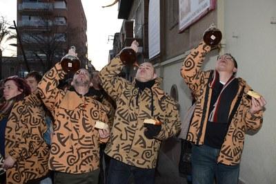 Los Diables de la Riera han sido los protagonistas de la fiesta de este año (foto: Localpres)