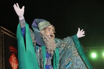 El Mago Rubisenc ha hecho de maestro de ceremonias (foto: Localpres)