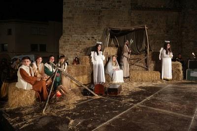 La cabalgata ha acabado con la adoración al niño Jesús (foto: Localpres)
