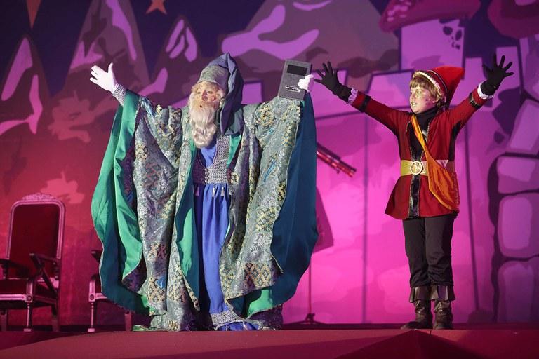 El Mago Rubisenc ha guiado a los Reyes (foto: Localpres)