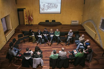 El acto de constitución ha tenido lugar en el Museo Municipal Castell (foto: Ayuntamiento – Lali Puig).
