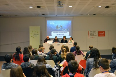 La jornada se ha celebrado en la Biblioteca Municipal (foto: Ayuntamiento de Rubí).