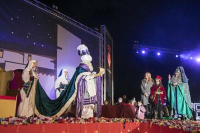 Sus Majestades llegan domingo al Escardívol (foto: Ayuntamiento de Rubí – Lali Puig).