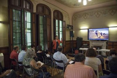 Sessión formativa para entitades (Foto: Localpres).