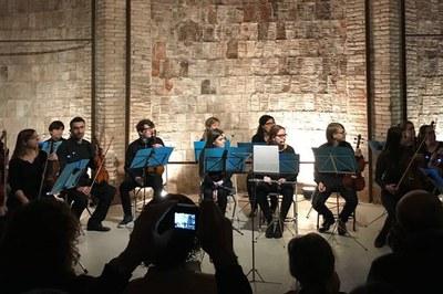 La orquesta de cámara de la Pere Burés protagonizará 3 del 8 conciertos del ciclo.