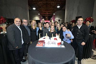 El acto central del 40 aniversario de Ràdio Rubí ha tenido lugar en El Celler (foto: Ayuntamiento de Rubí - Localpres).