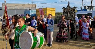 El Ayuntamiento estuvo presente en la celebración.