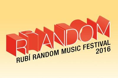 La marca del RRandom refleja el carácter ecléctico del festival.
