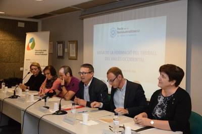 El acto de presentación de Mesa se ha hecho en el edificio Rubí Forma (foto: Localpres).