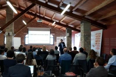 La jornada ha reunido en Can Serra a personal de diferentes administraciones públicas interesado en datos abiertos (foto: Ayuntamiento).