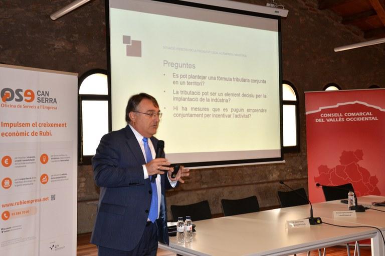 El consultor Enric Rius ha hablado sobre la fiscalidad