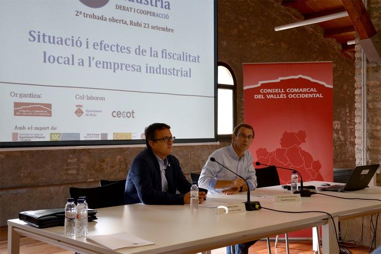 Joan Carles Paredes ha introducido el tema