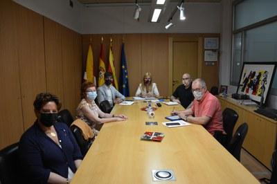 La reunión ha tenido luigar este martes (Foto: Ajuntament).