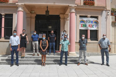 Este mediodía se ha dado a conocer el proyecto a los medios de comunicación (foto: Ayuntamiento de Rubí - Localpres).