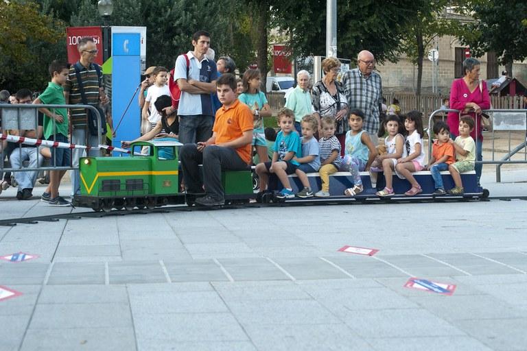 Acto central del centenario del tren (foto: Cesar Font)