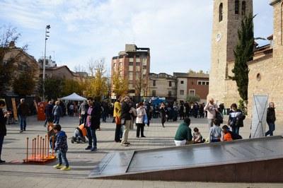 Ambiente en la plaza (foto: Localpres)