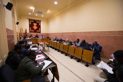 Este ha sido el último Pleno del Consejo Municipal de Cooperación Internacional de este mandato (foto: Localpres).