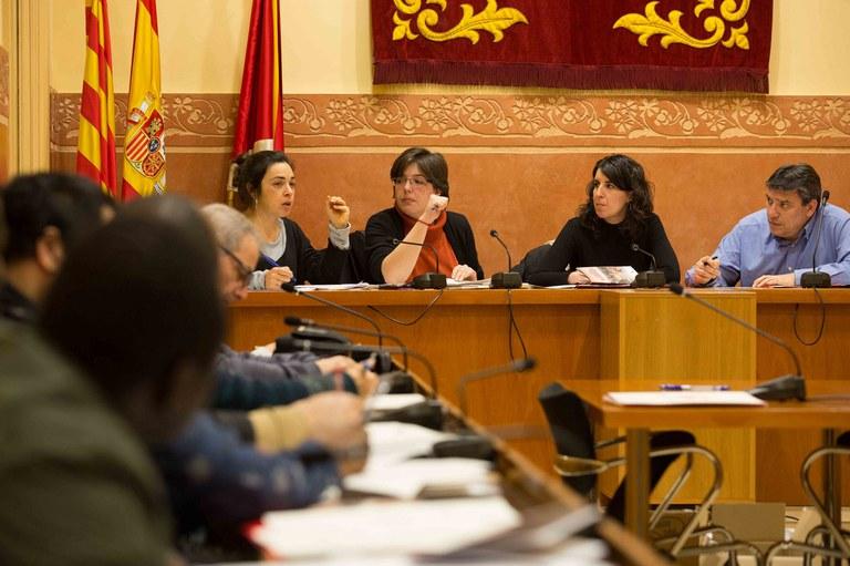 El Pleno ha sido presidido por la concejala de Gobernanza y Ciudadanía, Neus Muñoz (foto: Localpres)
