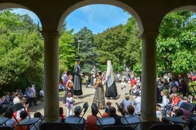 Baile de los Gegants de Rubí en la fiesta del año pasado (foto: Ayuntamiento de Rubí - Localpres).