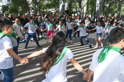 La bailada ha llenado la Rambla del Ferrocarril (foto: Localpres).