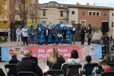 Acto de 2016 en la plaza del Doctor Guardiet (foto: Localpres).