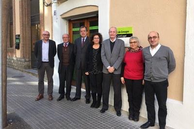 Los síndicos y síndicas de la comarca han colaborado con Sorea en la organización de diversos actos sobre los derechos humanos (foto: Ayuntamiento de Sant Cugat).