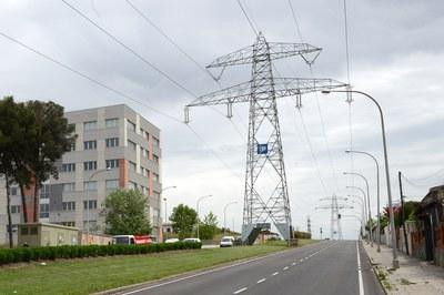 La avenida de la Electricidad en una imagen de  archivo  (foto: Localpres).
