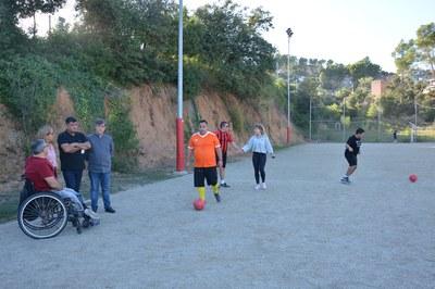 Los entrenamientos del equipo se realizan en la zona deportiva de Can Mir (foto: Ayuntamiento).
