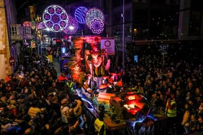 Las calles de Rubí se han llenado para ver los Reyes (foto: Ayuntamiento de Rubí – Lali Puig).