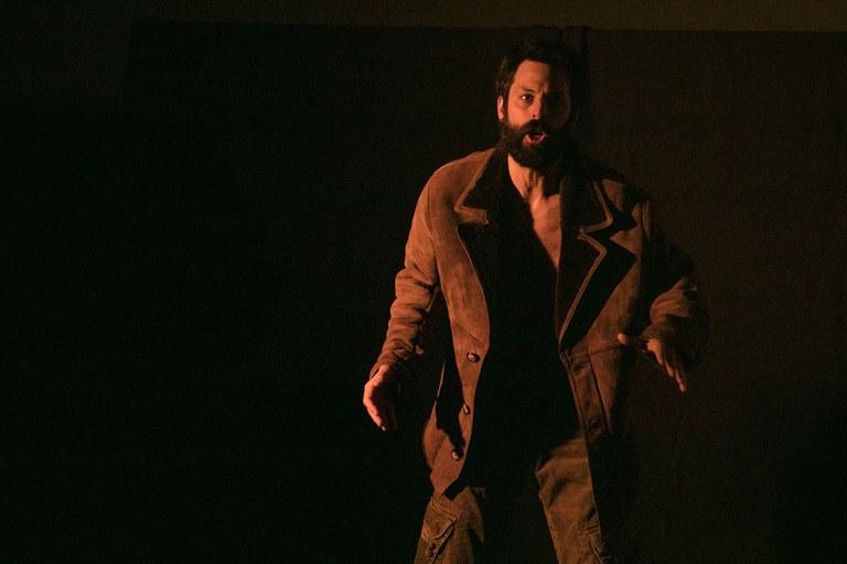 Los asistentes han podido disfrutar de la obra 'El Rey del Gurugú', interpretada por el actor David Martínez (foto: Ayuntamiento – Lali Puig)